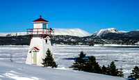 A Newfoundland Lighthouse in Winter BV